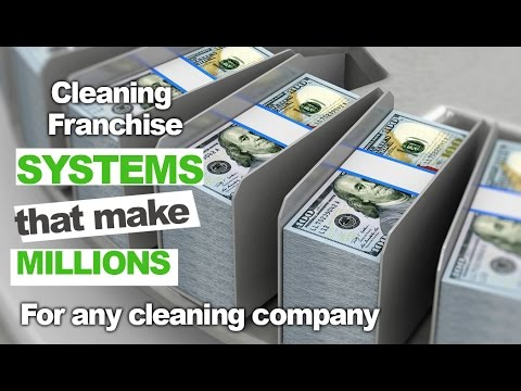 Top Cleaning Franchises 2020.Cleaning Franchise Systems That Make Millions And How To Implement Them In Your Business