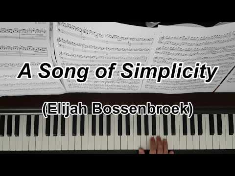 A song of simplicity