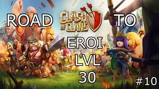 Clash Of Clans: REGINA AL 30 + ATTACCO IN WAR IN LIVE!