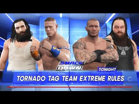 Luke Harper & John Cena vs.Randy Orton & Bray Wyatt -Tag ...