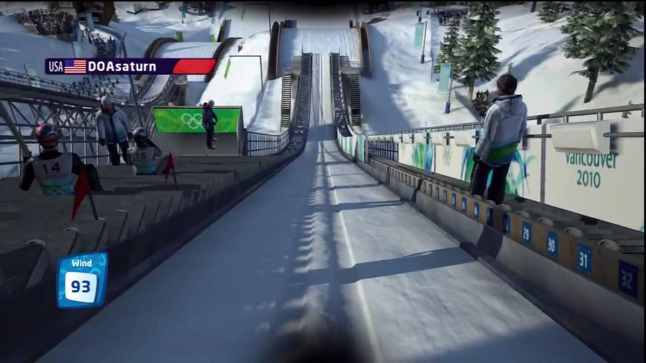 Ski Jumping Game