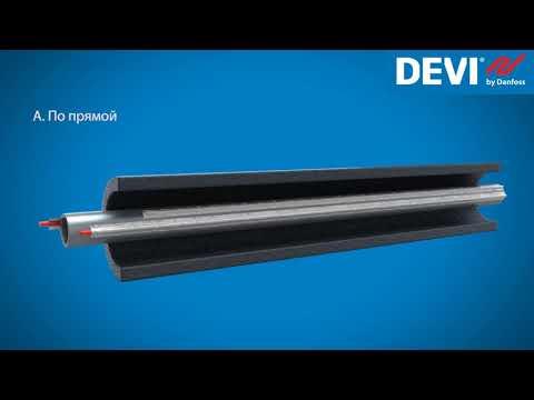 Системы защиты труб от замерзания DEVI