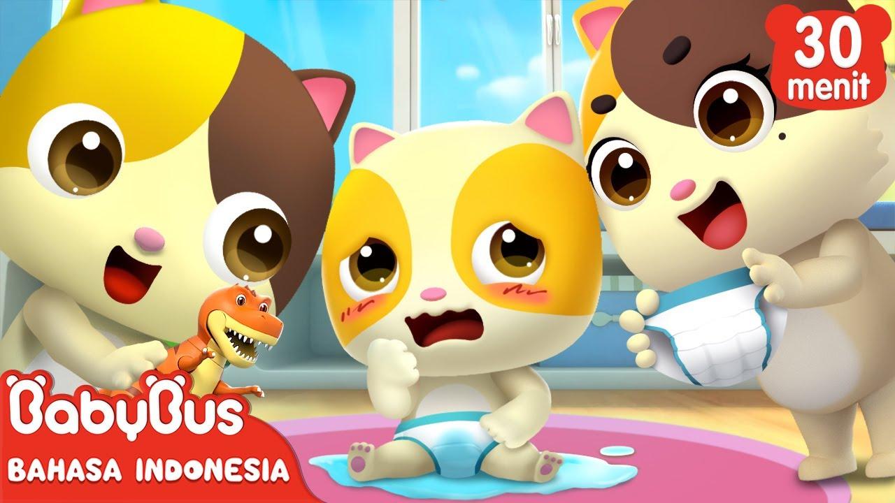 Aku Punya Adik Kecil, Aku Sayang Dia! | Kartun Anak | Lagu Anak Indonesia | BabyBus Bahasa Indonesia