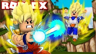 Nous sommes devenus Goku! Tycoon Anime Roblox