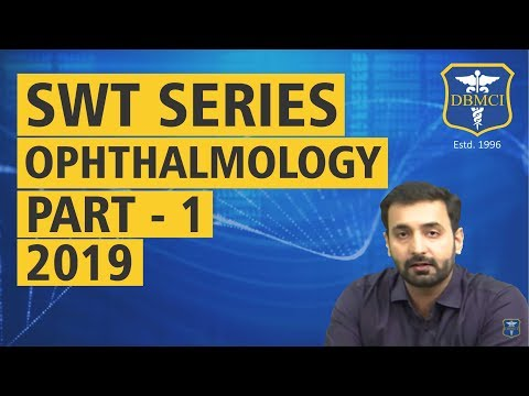 SUBJECT WISE TEST SERIES - OPHTHALMOLOGY - PART - 1 - 2019