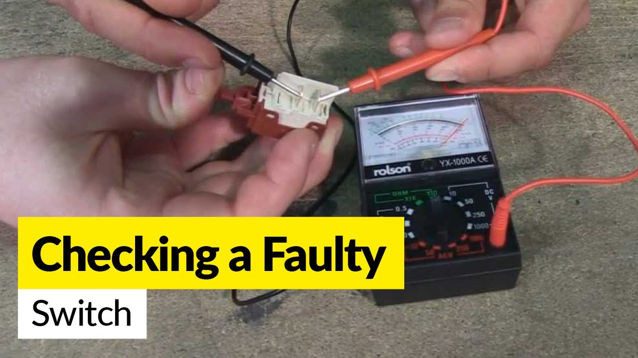 how to check a faulty switch using a multimeter youtube rh youtube com how to test wiring on a trailer plug how to test wiring for rodent damage