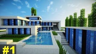Minecraft: Tutorial Casa Super Moderna - Parte 1