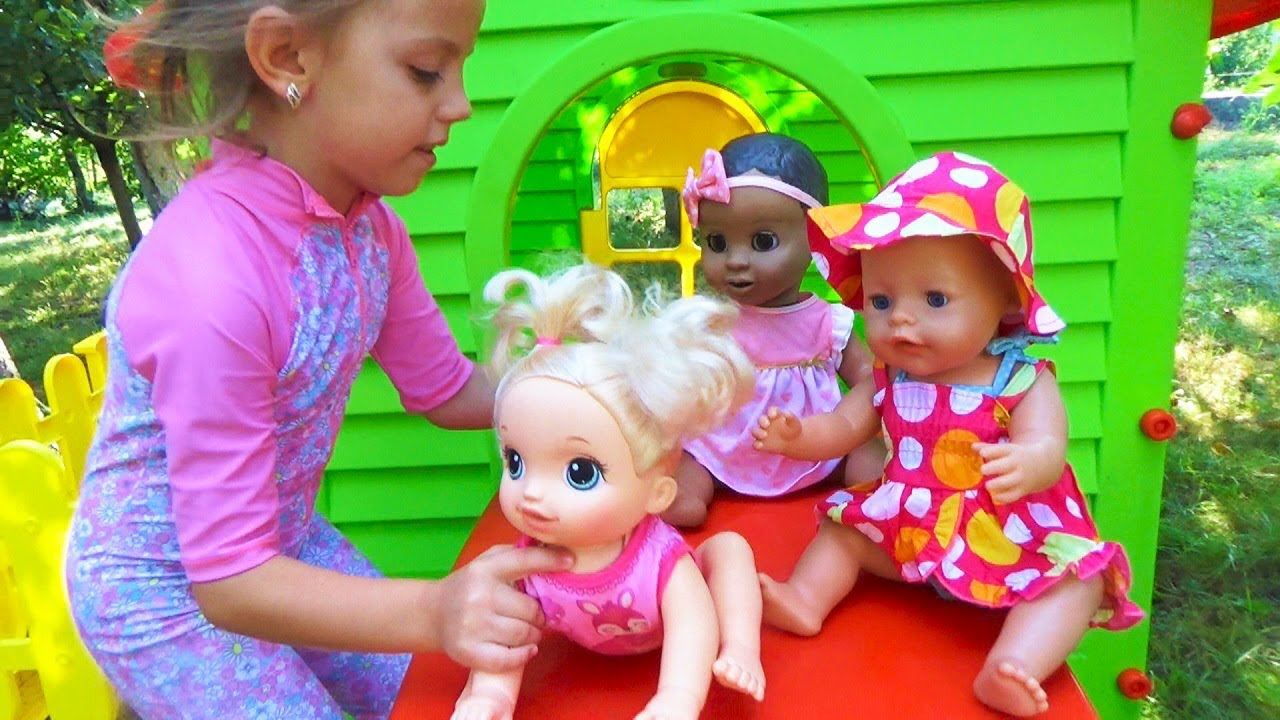 Капризные малыши КУКЛЫ Рутина маленького блогера Pretend play