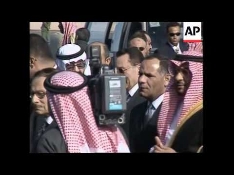 Arab leaders arrive for summit, Iraqi, Palestinian, Sudanese comments