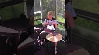 Zach plays Word Up (Korn)