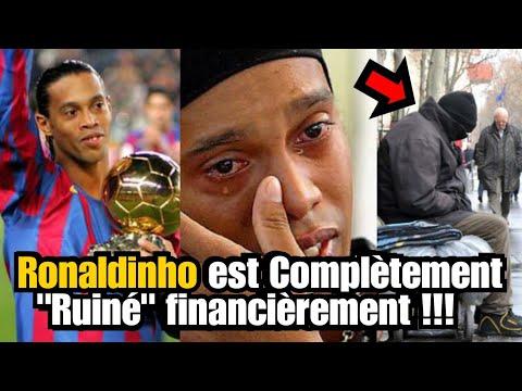Ronaldinho est ruiné financièrement   PRIINCE TV