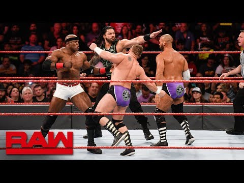 Roman Reigns & Bobby Lashley vs. The Revival: Raw, June 25, 2018