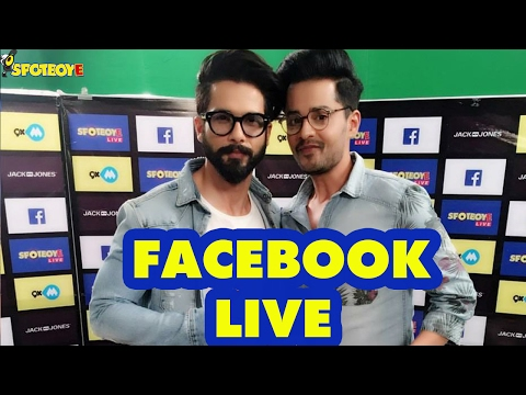 Facebook Live with Shahid Kapoor for Rangoon by Shardul Pandit | SpotboyE