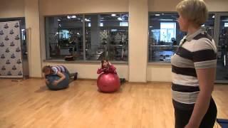 Фитнес для детей. Упражнения для детей.(Укрепляющие и реабилитационные упражнения для детей. Добро пожаловать в фитнес-клуб «Хай Энерджи»: http://www.hi..., 2014-06-07T17:22:26.000Z)
