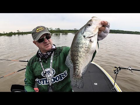 FOX Sports Outdoors SouthWEST #14 - 2019  Lake Sardis Mississippi Crappie Fishing