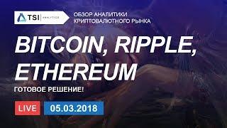 BITCOIN, RIPPLE, ETHEREUM — готовые решения   Прогноз цены на Биткоин, Эфир, Криптовалюты
