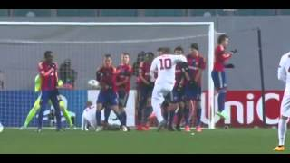 Download Video Francesco Totti Fantastic Free Kick Goal   CSKA Moscow vs AS Roma 0 1  Champions League  2014 HD MP3 3GP MP4