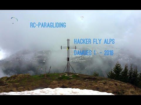 RC-Paragliding: Hacker FLY ALPs Damüls 1   vom 02  05 Juni 2016