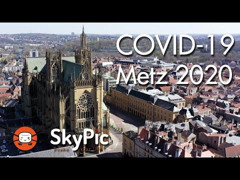 COVID-19 - Metz Lockdown 2020 (Moselle - France)