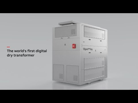 ABB Ability™ TXpert™ Dry – The World's First Digital Dry-type Transformer