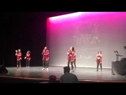 CCNY ASU Dance Team at John Jays Annual Mother Africa 2016