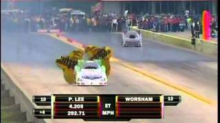 Paul Lee Del Worsham FC Rnd 3 Qualifying Super Start Fall Nationals Dallas 2010.mpg