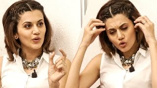 How much cleavage is a good cleavage ? Why Should A Man Tell A Woman -Taapsee