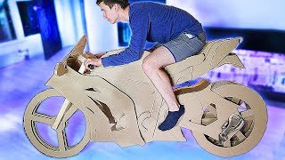 Video MOTORCYCLE from CARDBOARD with MOTOR download MP3, 3GP, MP4, WEBM, AVI, FLV Juni 2018