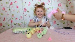 Как сделать игрушки из носков своими руками? Обзор. Vlog.