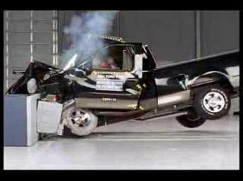 Crash Test Ford F150 Youtube