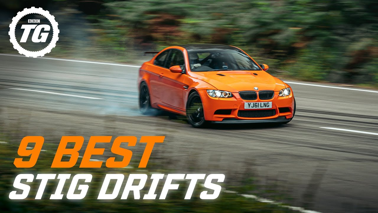 COMPILATION: 9 Best Stig Drifts | BMW M2, Aston DB5, Atom 4, Supra, C63 AMG & Caterham | Top Gear