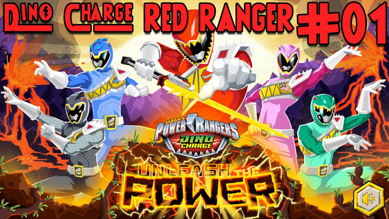 Power Rangers Dino Charge Unleash The Power Parte 1 Red