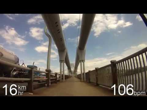 Biking in NYC - George Washington Bridge, High Bridge, & The Bronx