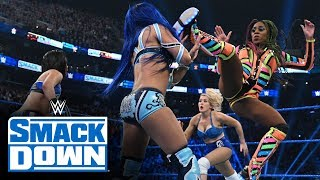 Naomi & Lacey Evans vs. Bayley & Sasha Banks: SmackDown, Feb. 28, 2020