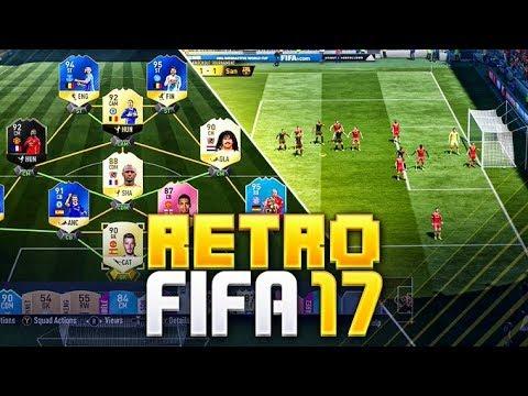 RETRO FIFA!! PLAYING FIFA 17 AGAIN!! FIFA 17 Ultimate Team