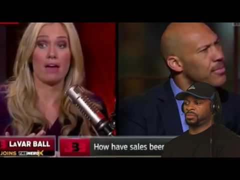 LAVAR BALL DESTROYS KRISTINE LEAHY DURING -THE HERD- INTERVIEW | REACTION