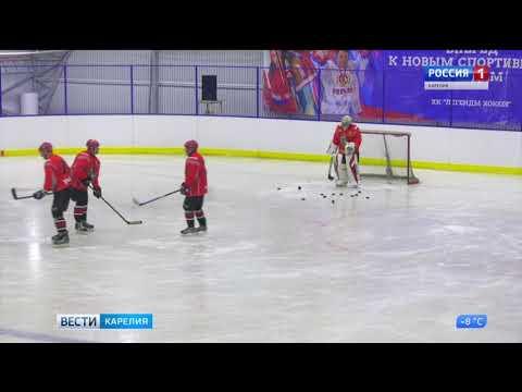 В Кеми обкатывают лед новой крытой площадки