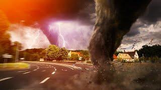 Вырванные деревья и разрушенные дома. Зверские торнадо терзают США
