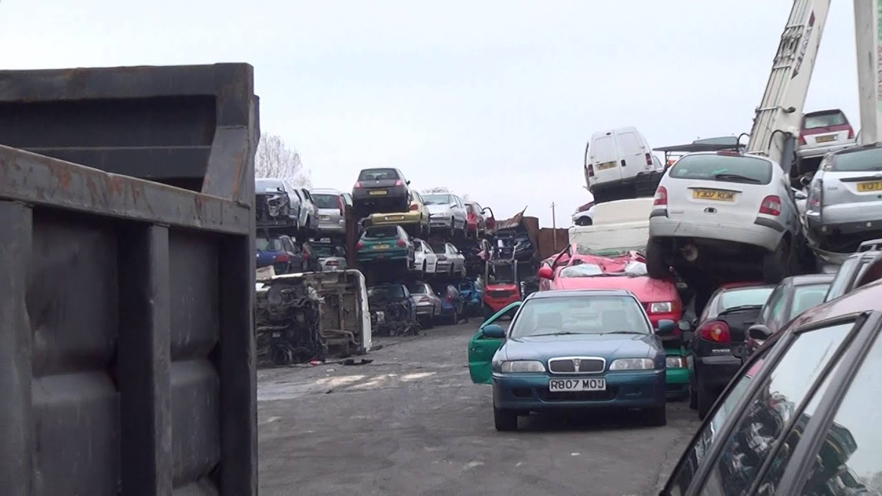 Scrap My Car Manchester - YouTube