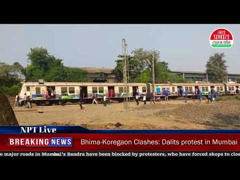 Bhima-Koregaon clashes: Dalits protest in Mumbai and Pune