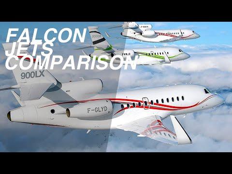 Top 3 Dassault Falcon Business Jets Comparison 2021-2022 | Price & Specs