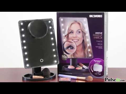 16 LED Lighted Mirror w/ 10x Magnifier
