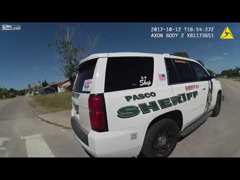 Police Standoff With Shooting Suspect Brian Disario In Port Richey