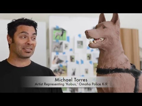Horses of Honor Omaha: About K-9 Kobus Statue with Artist Michael Torres