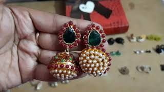 My huge ear rings collection a…