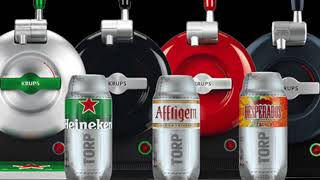 The Krups Sub Home Beer Tap Review - Heineken