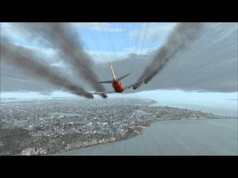 Boeing 747-8 Emergency Seattle