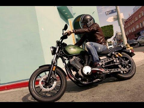 Yamaha XV950 und XV950R in Venice Beach | Fahraufnahmen