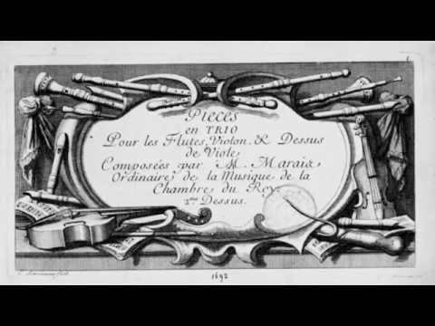 Sarabande from trio III - Marin Marais