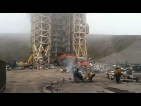 SLC-4 demolition at VAFB
